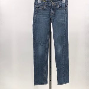 J. Crew Matchstick straight and narrow jeans  24S